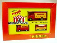 (Set 048) CIRQUE PINDER LE GEANT EUROPEEN (F)