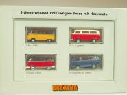 (Set 060) 3 Generation VW-Busse mit Heckmotor